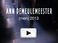 ANN DEMEULEMEESTER 2013SS